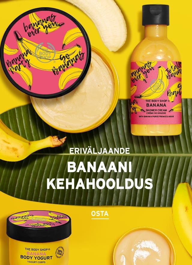 Banaani kehahooldussari