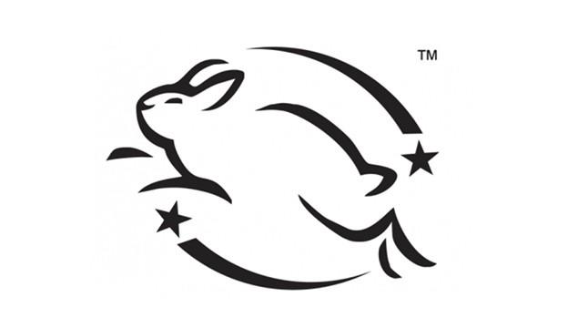 Otsi hüppava jänku logo