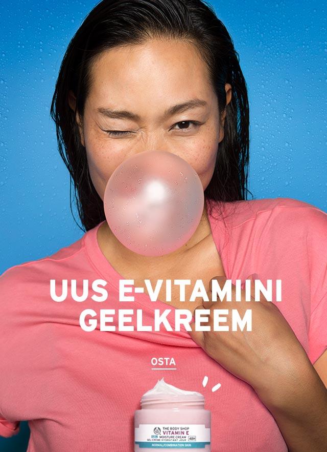 E-vitamiini niisutav geelkreem