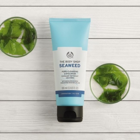Очищающий скраб для лица Морские водоросли