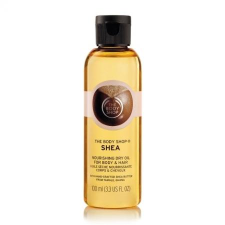 Сухое масло для тела и волос Ши