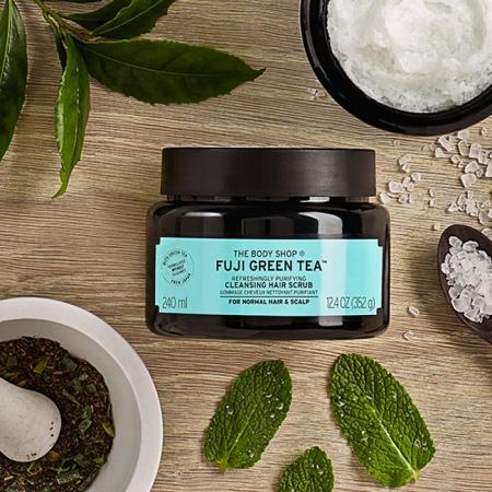 Fuji Green Tea™ sügavpuhastaja peanahale ja juustele