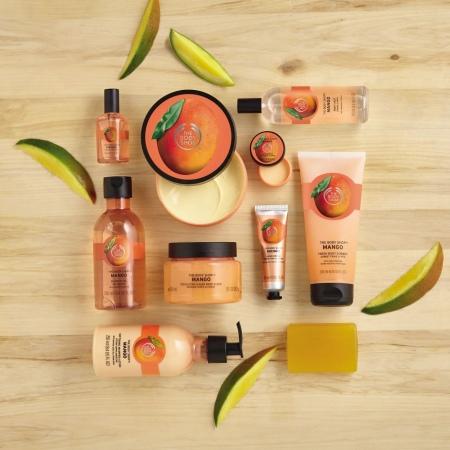 Mango vahustatud kehakreem