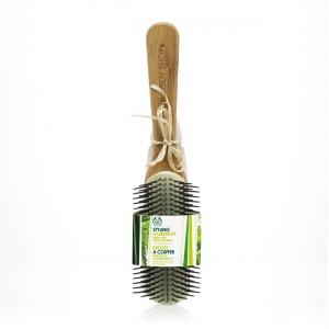 Щетка для укладки волос из бамбука