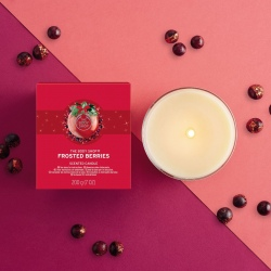 Ароматическая свеча Морозные Ягоды