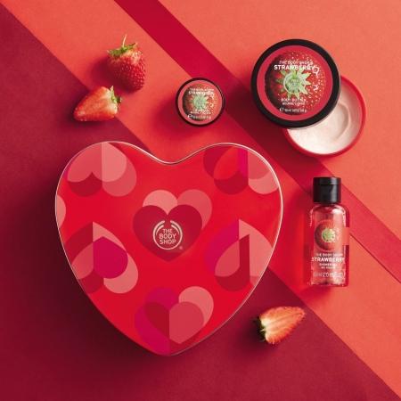 Подарочный набор «Клубничное сердце»