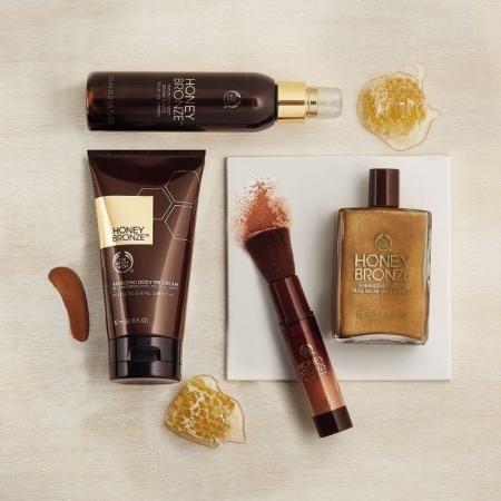 Сухое масло-блеск для тела Honey Bronze™
