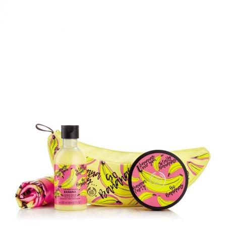 Подарочный набор в косметичке Банан
