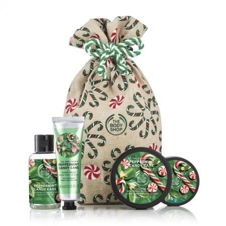 Подарочный набор «Festive Sack of Peppermint Candy Cane Delights»