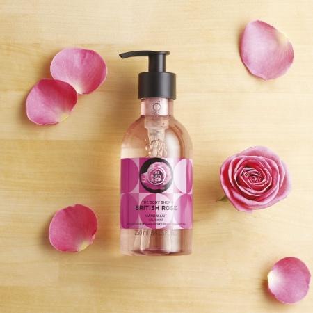 Гель для мытья рук Британская роза