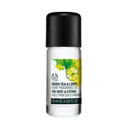 Aroomiõli roheline tee ja sidrun