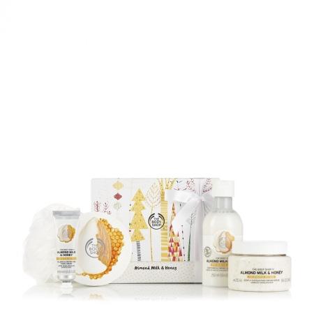 Большой подарочный набор «Миндальное молочко и мед»