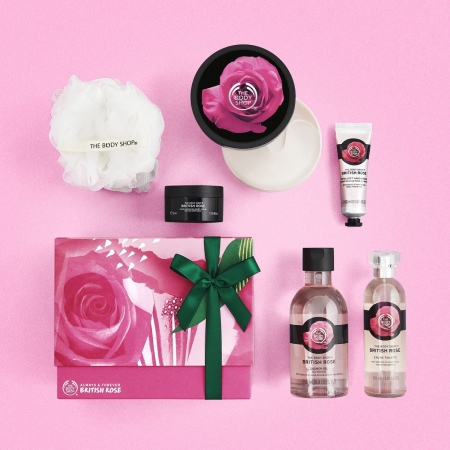 Большой подарочный набор «Британская роза»