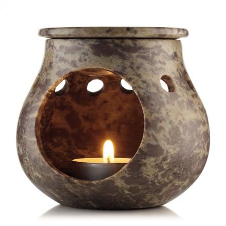 Каменная арома-лампа