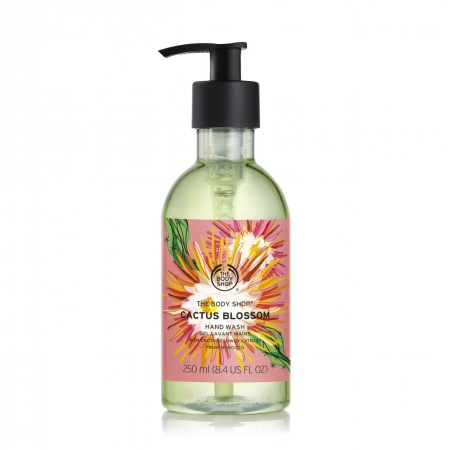 Гель для мытья рук Цветы кактуса