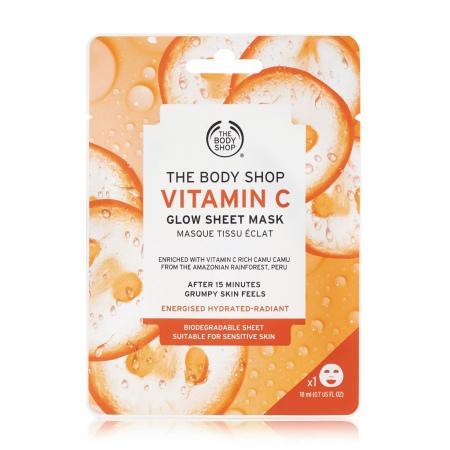 C-vitamiini kirgastav kangasmask