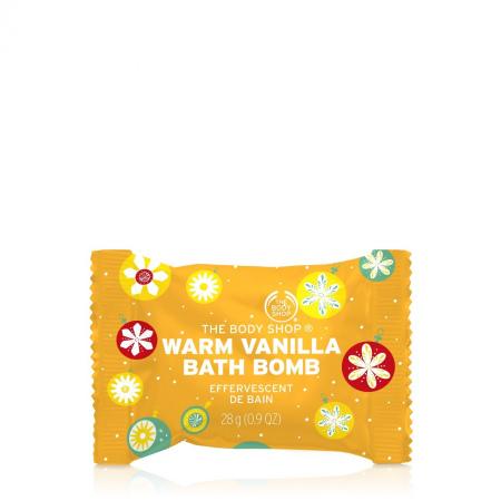 Бомбочка для ванны «Теплая ваниль»