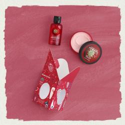 Maasika väike kehahoolduse kinkekomplekt