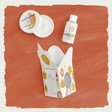 Мини-набор Миндальное молочко и мед
