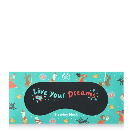 Маска для сна «Live Your Dreams»