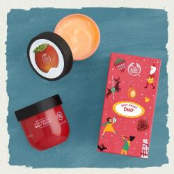 Maasika ja mango kehajogurtite duo