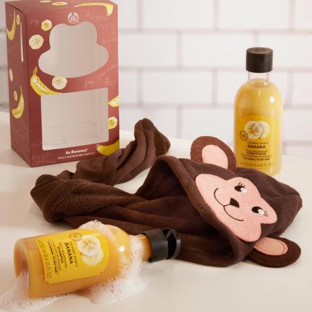 Go Bananas juuksehoolduse kinkekomplekt