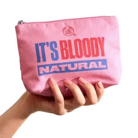 It's Bloody Natural kosmeetikakott