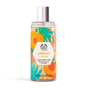 Aprikoosi ja agaavi keha- ja juuksesprei