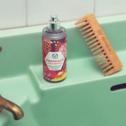 Granaatõuna ja punaste marjade keha- ja juuksesprei