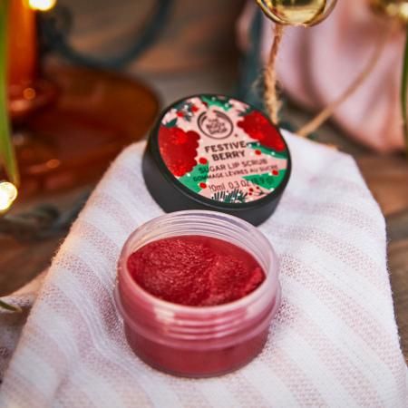 Бальзам—скраб для губ «Festive Berry»