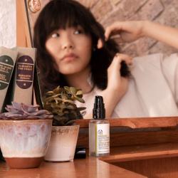 Viinamarjaseemneõliga juukseseerum