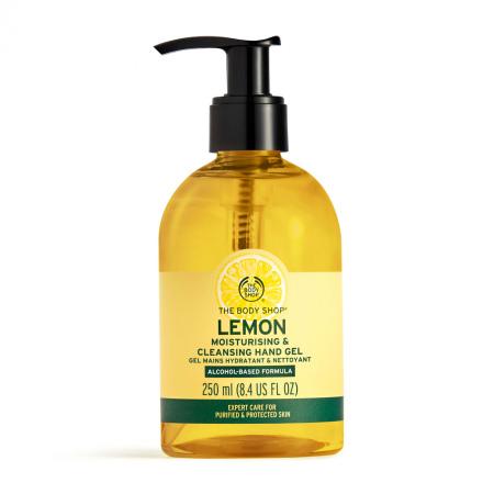 Lemon Moisturising & Cleansing Hand Gel