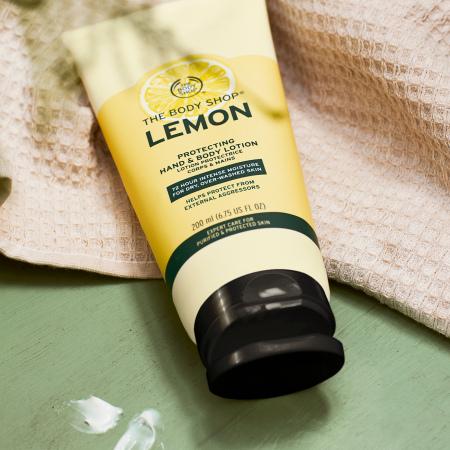 Молочко для рук и тела «Свежий лимон»