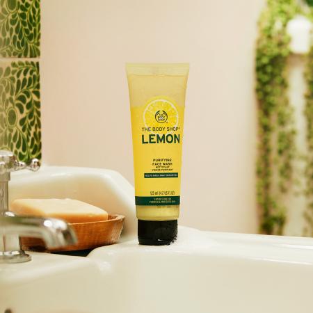 Гель для умывания «Свежий лимон»
