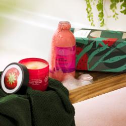 Maasika kehahoolduse duo