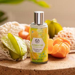 Klementiini ja tähtvilja keha- ja juuksesprei