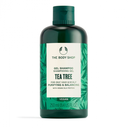 Teepuu puhastav ja tasakaalustav šampoon
