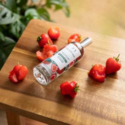 Maasika kehasprei